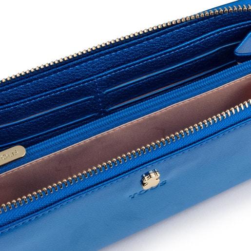 Medium blue Dorp Wallet