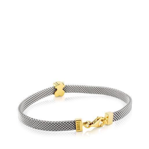 Set de tous Sac avec tous BEAR Bracelet en or