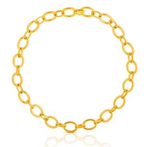 Vermeil Silver TOUS Chain Necklace
