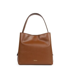 Brown Leather Sibil One shoulder bag