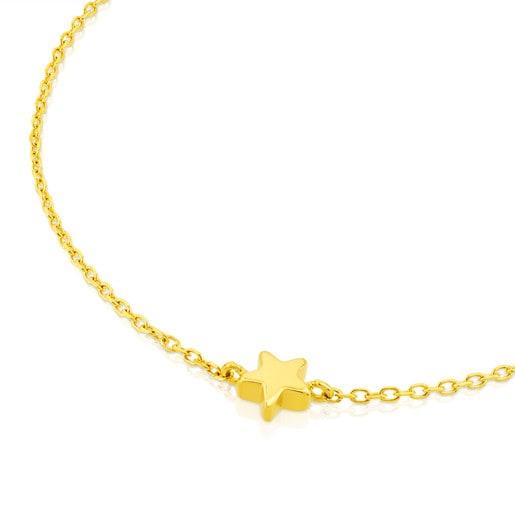 Gold Sweet Dolls XXS Bracelet with Star motif.
