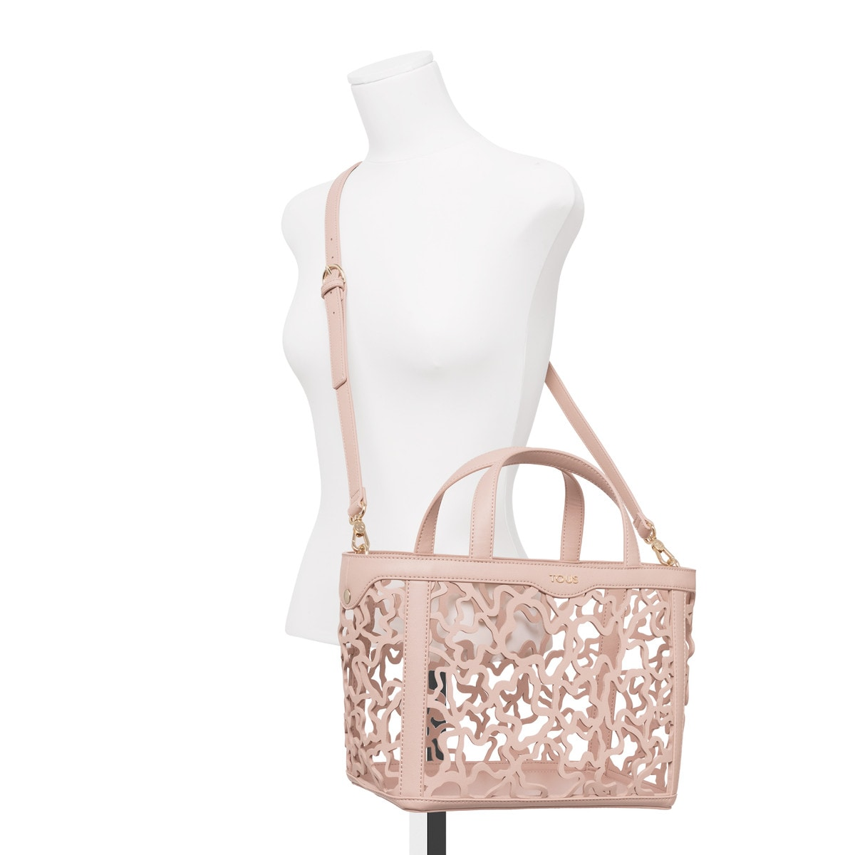 Small pink Kaos Shock Tote bag