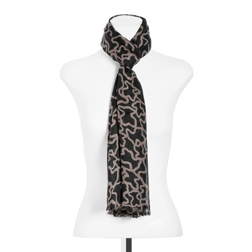 Foulard Kaos en color negro