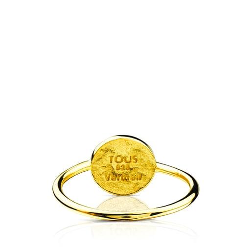 Vermeil Silver Bahia Mini Ring with Enamel