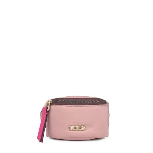 Mini bolsa muñequera Shelby rosa