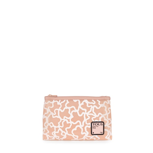 Pink TOUS Rubber Toiletry bag