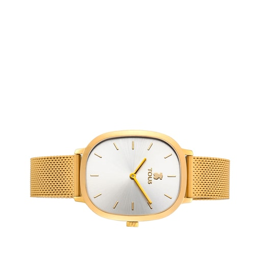 Gold-colored IP Steel Heritage Watch