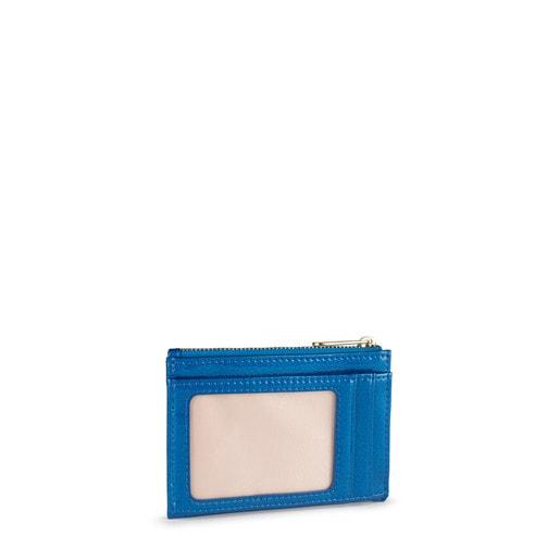 Monedero y tarjetero Dorp azul