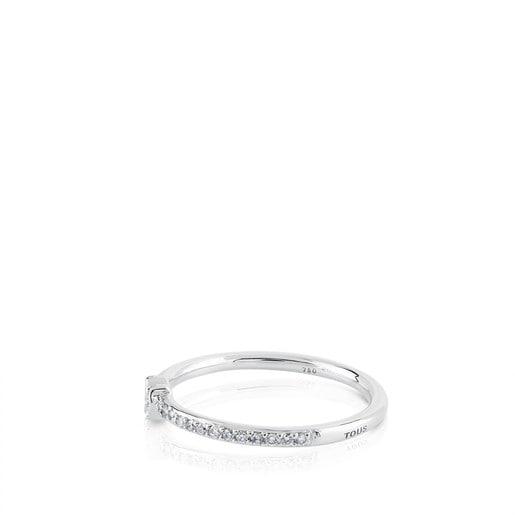 Anillo Les Classiques de Oro blanco con Diamantes