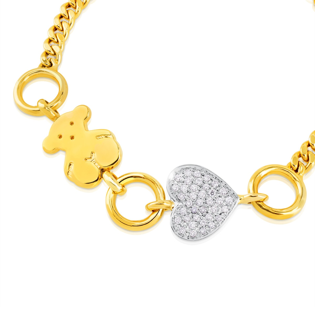 Gold New Sweet Dolls Bracelet