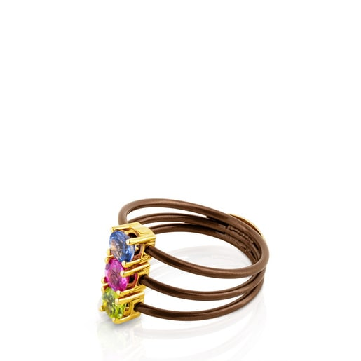 Ring Mix Titanio aus Gold und Titan