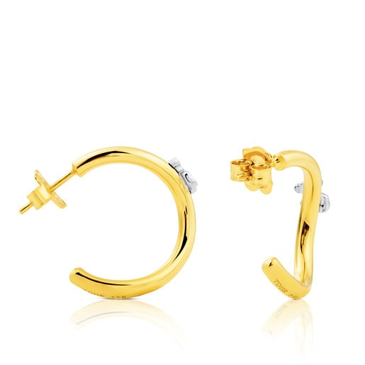 Gold Ondas Earrings