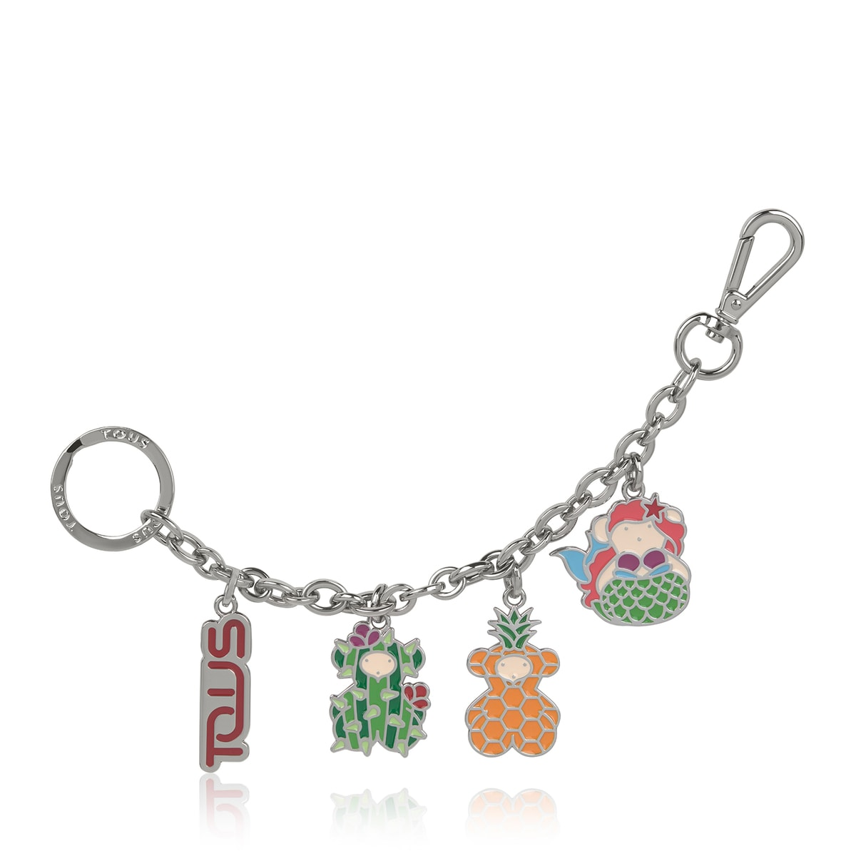 Porta-chaves Summer Bears Chain Multicolor