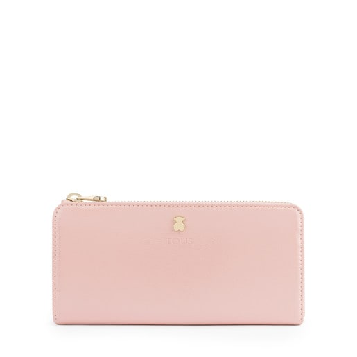 Medium antique pink Dorp wallet