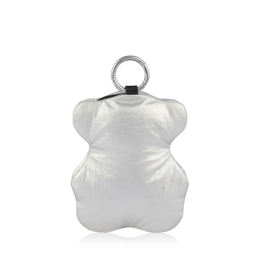 Foldable Black-Silver Bear Salsi Shopping Bag