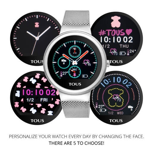 Steel Rond Touch activity Watch