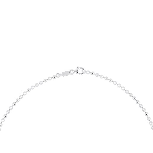 45 cm Silver TOUS Chain 3 mm ball Choker.