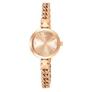 Rellotge Tack d'acer IP rosat