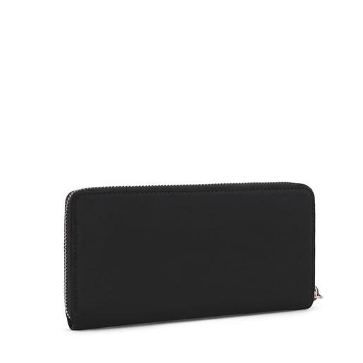 Medium black Empire Soft Wallet