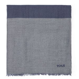 Foulard Riverdale en color marino
