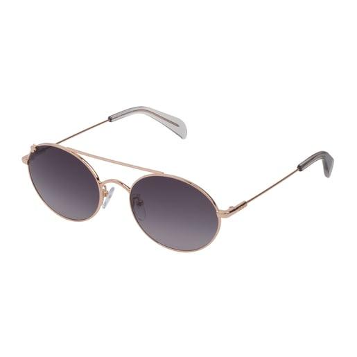 Gafas de sol Metal Bear de Metal en color oro
