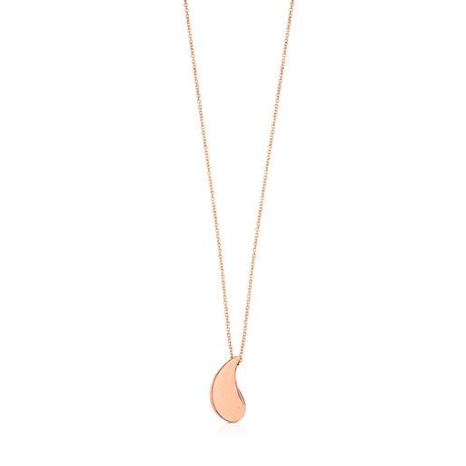 ATELIER 24/7 teardrop Necklace in rose Gold