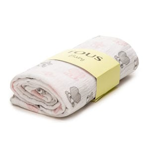 Muse muslin blanket in pink