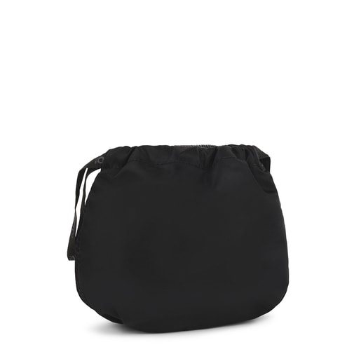 Black and gray Ina Pouch bag