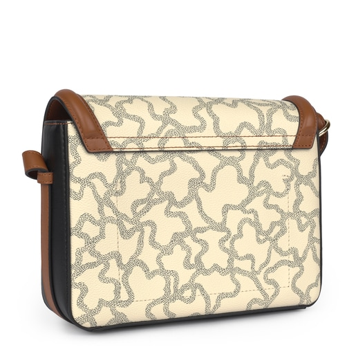 Medium Kaos Icon Multi Beige - Red Shoulder Bag