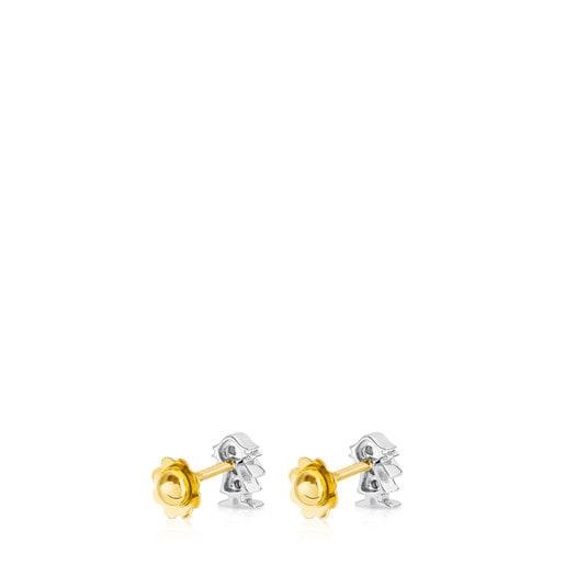 Brincos Puppies em Ouro