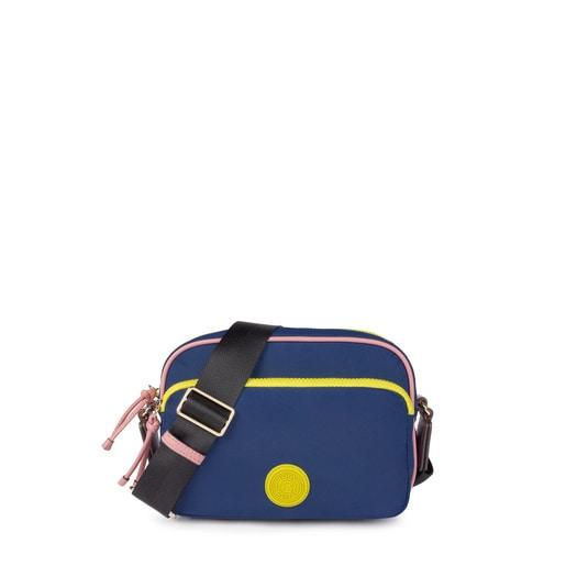Tri-navy colored New Doromy crossbody bag
