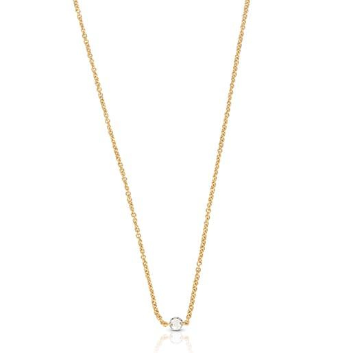 Colar ATELIER Diamonds em Ouro com Diamante de corte de rosa