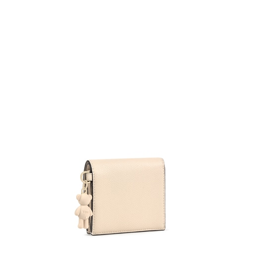 Billetera pequeña Tous Pop beige