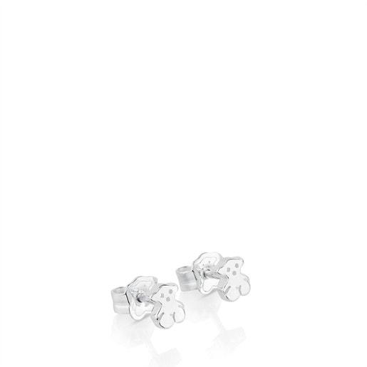 Boucles d'oreilles Puppies en Argent