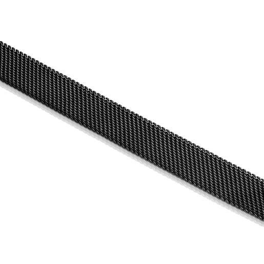 Cadena Mesh de acero IP negro