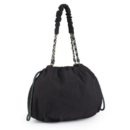 Black T Lux Bucket Bag