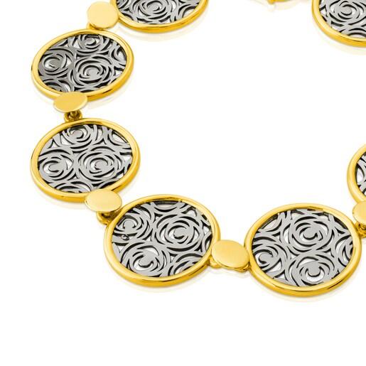 Vermeil Silver Rosa d'Abril Bracelet