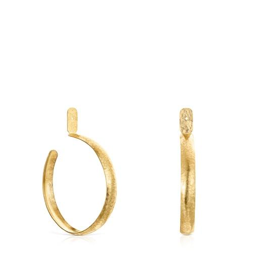 Medium Colombian Vermeil Silver Earrings