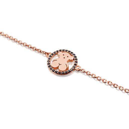 Bracelet Camille en Vermeil avec Spinelles.
