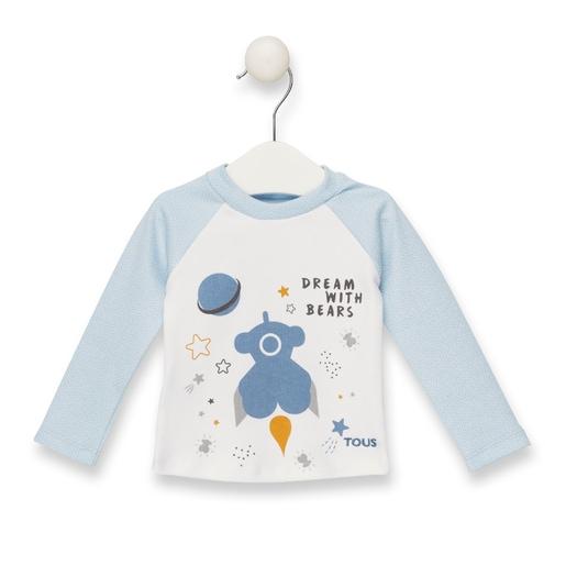 Camiseta M/L Mission Azul celeste
