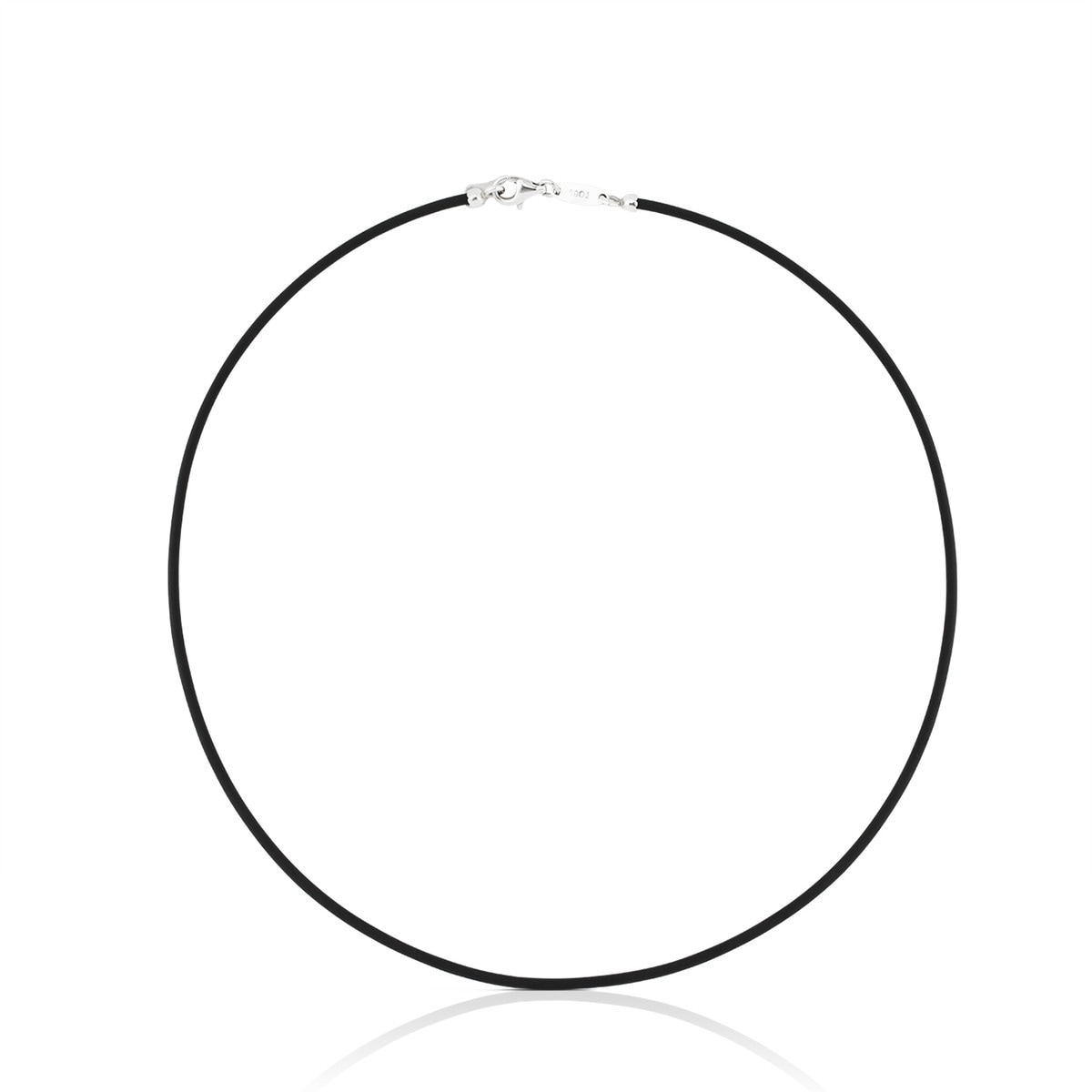 Collar TOUS Chokers de Cautxú de color negre