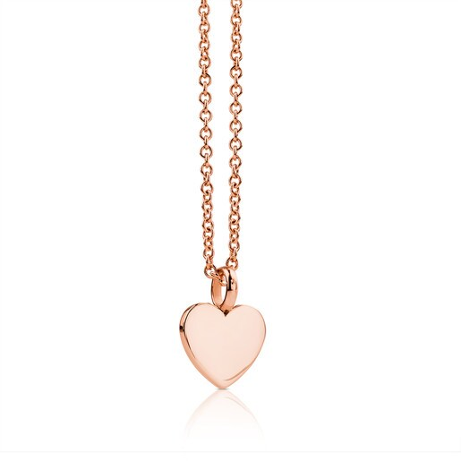 Rose Vermeil Silver Sweet Dolls Necklace
