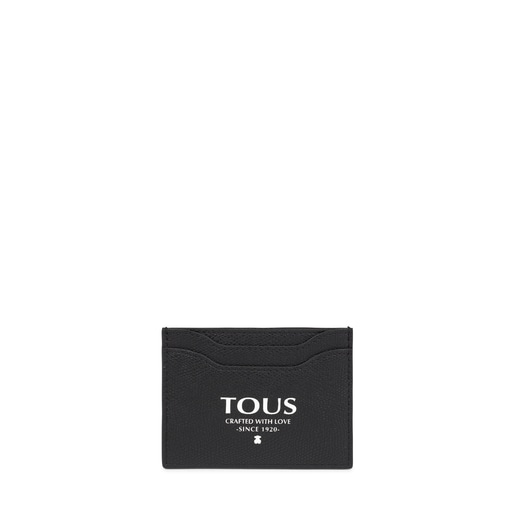 Black TOUS Essential flat Cardholder