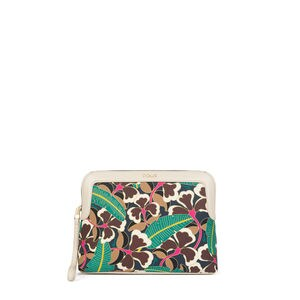Multicolour-ivory Flare Toiletry Bag