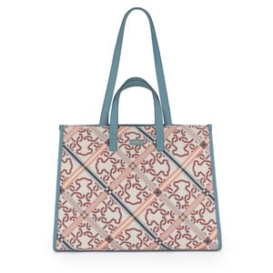 Beige-blue Astrid Tote bag