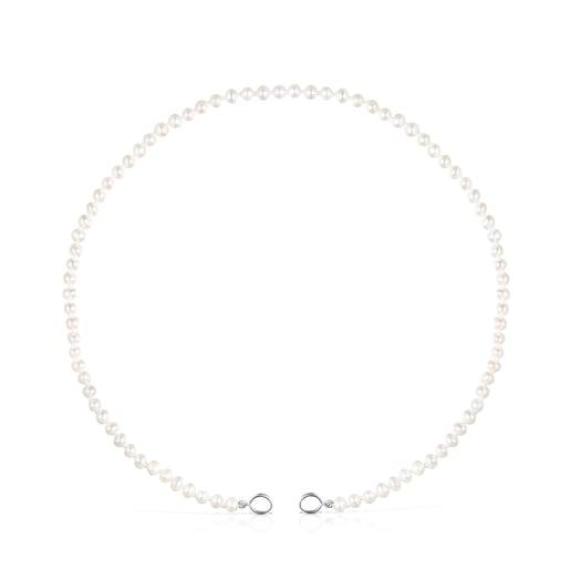 Collar Hold de Perlas y Plata
