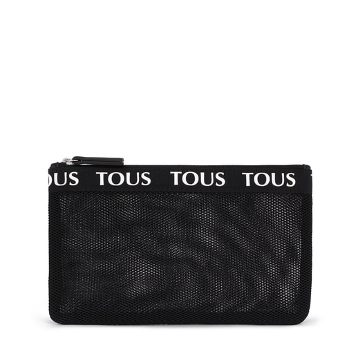 Medium Black T Colors Toiletry Bag