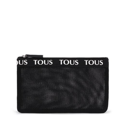 Medium Black T Colors Toiletry Bag