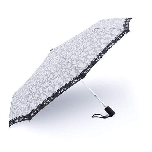 Paraguas plegable Kaos New en color arena-negro