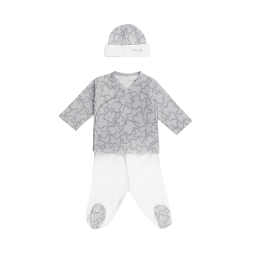Conjunto recién nacido Home Kaos Azul Celeste